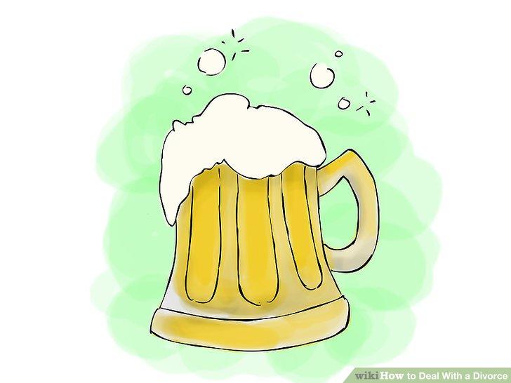 Vermeiden Sie Alkohol als Bewältigungsmechanismus.