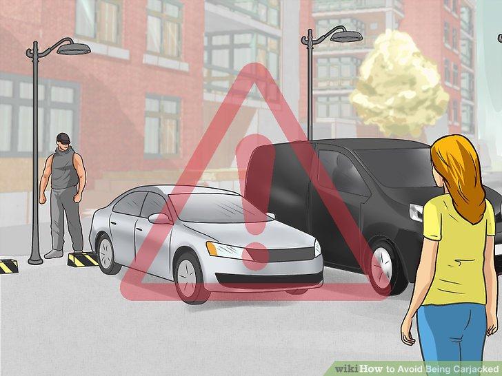 Schauen Sie zu, hören Sie zu und vertrauen Sie Ihrem Instinkt, wenn Sie sich Ihrem Auto nähern.