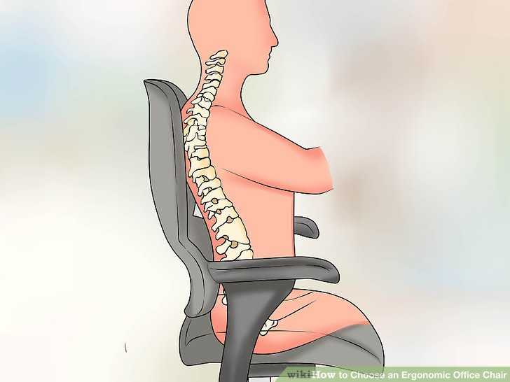 ergonomic chair criteria horse rocking how to choose an office 12 steps with pictures image titled step 4