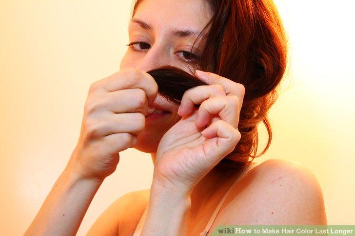 Treat your hair with jojoba oil.