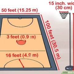 Netball Court Measurement Diagram Cat 6 Wiring Rj45 3 Ways To Play Wikihow Image Titled Step 1