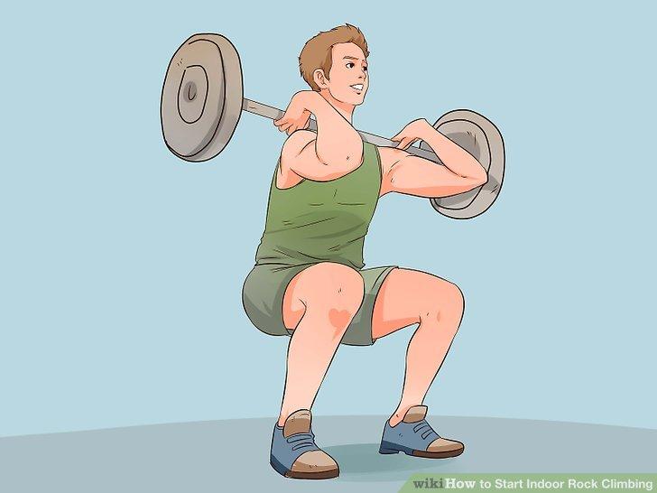 Trainieren Sie Ihre Muskeln.