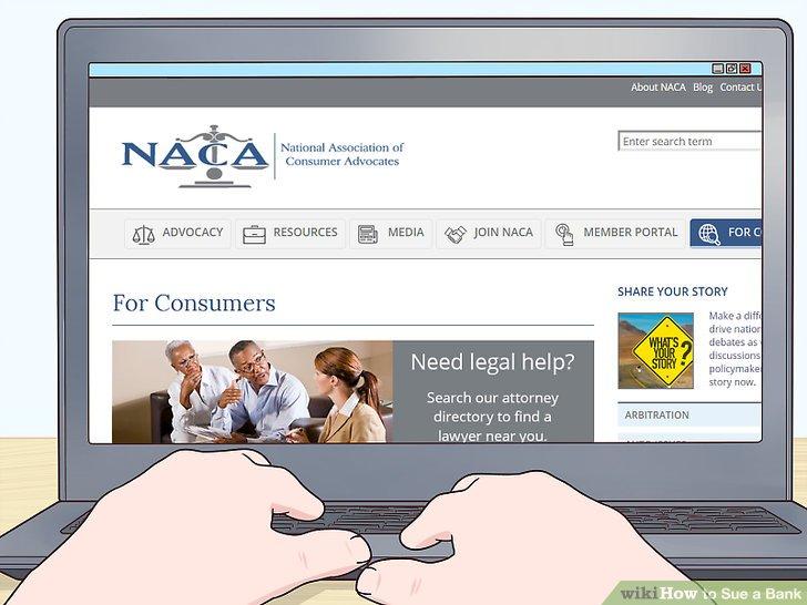 Durchsuchen Sie das Verzeichnis der National Association for Consumer Advocates (NACA).
