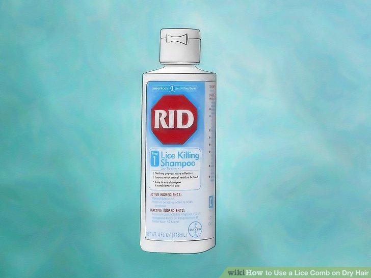 Use medication to kill lice.