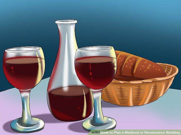 Servieren Sie Wein und Ale zusammen mit anderen beliebten Renaissance-Getränken.