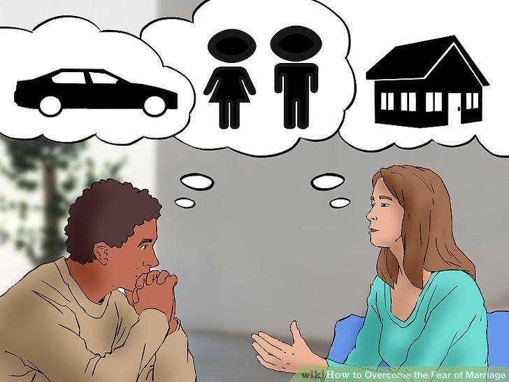 Sprechen Sie mit Ihrem Partner über Ihre Ängste.