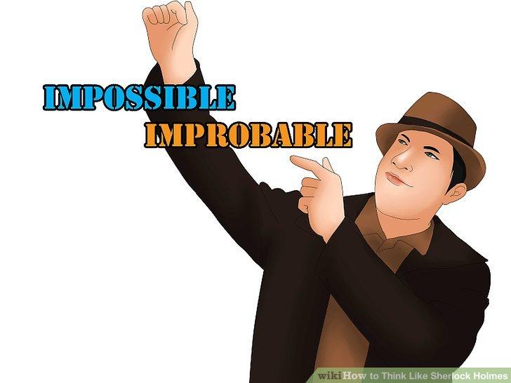 Kennen Sie den Unterschied zwischen Unmöglichem und Unwahrscheinlichem.