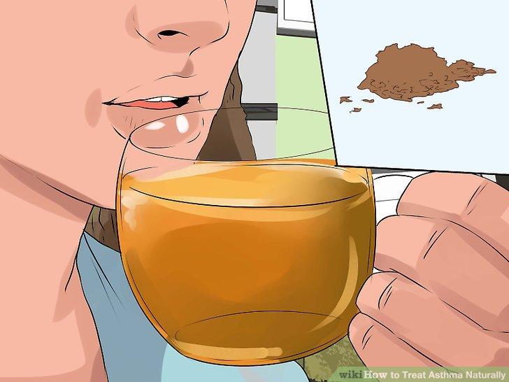 Erwägen Sie die Einnahme von Kräutern speziell für Asthma.