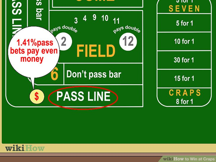 Take (relatively safe) pass bets.