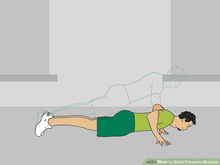 Do finger and wrist push backs.