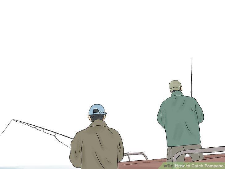 Verwenden Sie eine 20-lb-Testlinie, wenn Sie einen größeren Fisch haken.