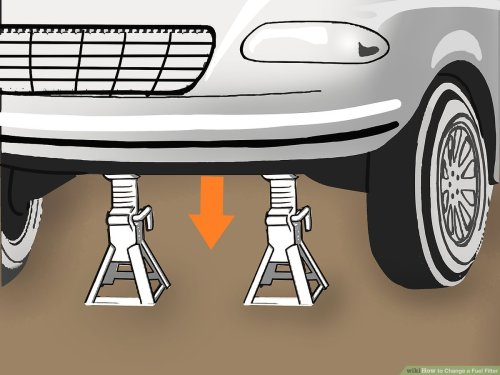 small resolution of how to change a fuel filter with pictures wikihow diagram as well ford focus fuel filter location on 2004 chevy malibu