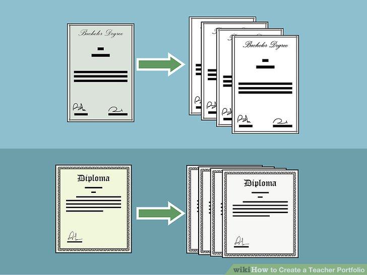 Besorgen Sie sich Kopien Ihrer Lehrlizenzen und Zertifikate.