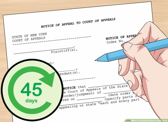 How to File Small Claims in New Jersey: 22 Steps (with Pictures)