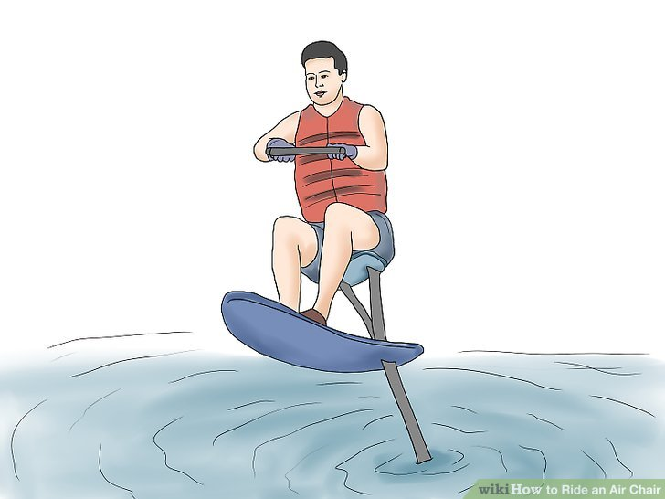 hydro chair water ski ergonomic neck support how to ride an air with pictures wikihow image titled step 16