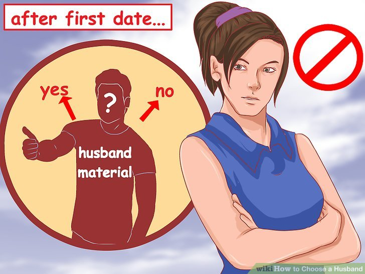 """Avoid deciding whether or not a man is """"husband material"""" based on the first few dates."""
