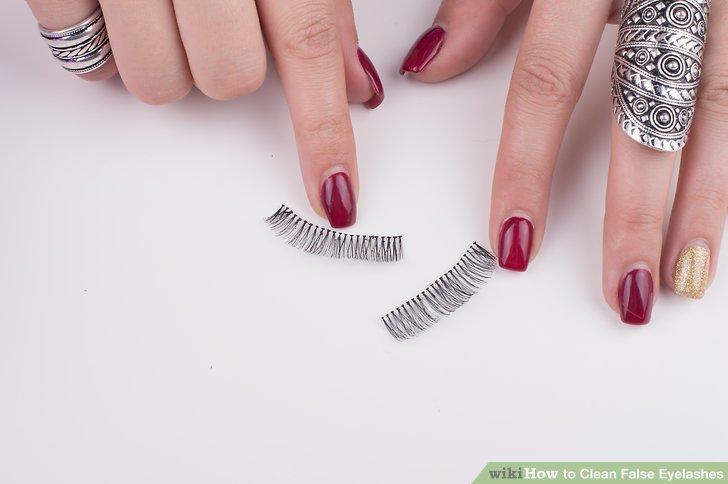 Wiederholen Sie diesen Vorgang, bis Ihre Wimpern sauber sind.
