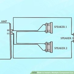 Wiring Diagram For Subs And Amp 2009 Jeep Wrangler Unlimited Radio 6 Ways To Install A Multiple Component Car Audio System Wikihow Image Titled Step 13
