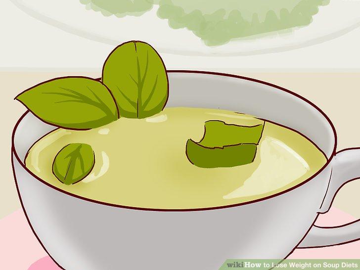 Ersetzen Sie Mahlzeiten mit Kohlsuppe.