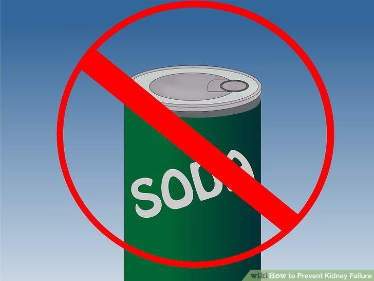 Halten Sie sich von Soda fern.