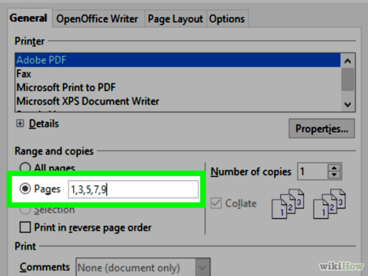 how to print out