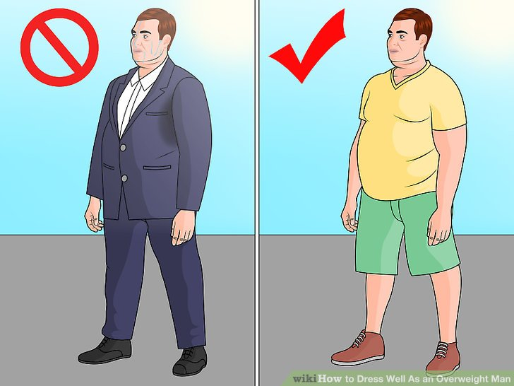 How to Dress Well As an Overweight Man: 14 Steps (with ...