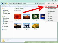 How to Enable Thumbnail View for Pictures in Windows 7: 3 ...