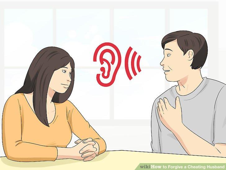 Hören Sie zu, wie sich Ihr Mann fühlt.