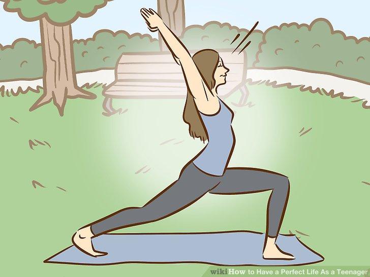 Folgen Sie einem Fitnessplan.