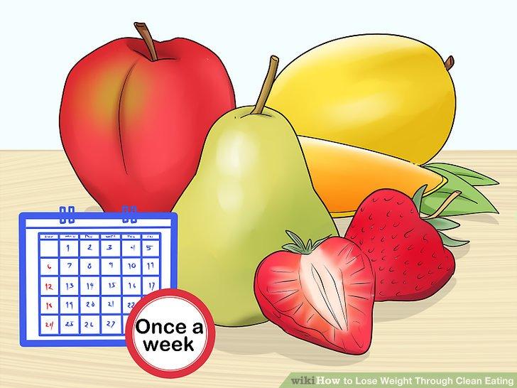 Ersetzen Sie einmal pro Woche raffinierten Zucker durch frisches Obst.