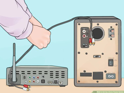 small resolution of home theater tv cable box wiring diagram