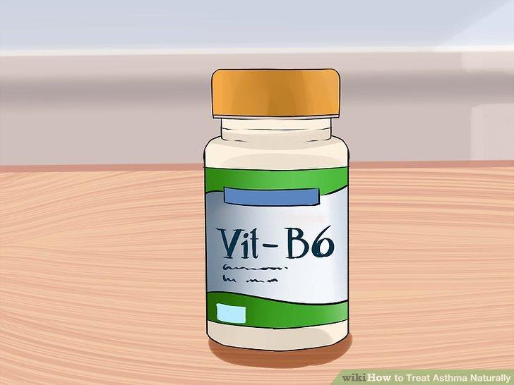 Nehmen Sie Vitamin B6.