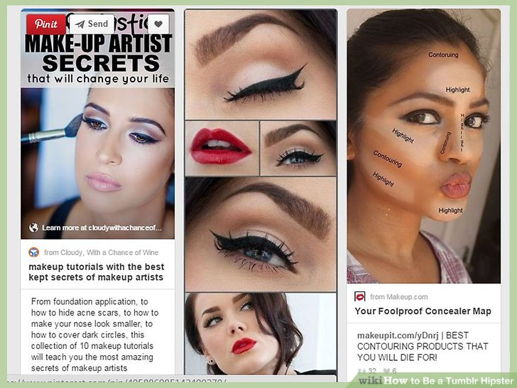 How To Be A Hipster 10 Steps With Pictures Wikihow Drag Makeup Tutorial Hd You