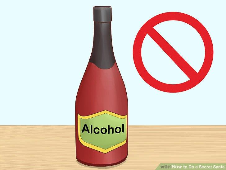 Vermeiden Sie Alkohol.