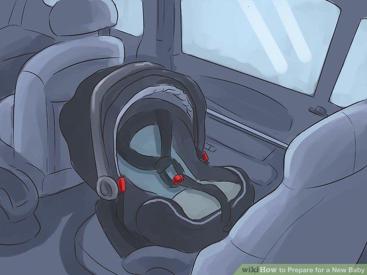 Das Einsetzen des Autositzes üben