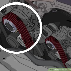 2003 Honda Civic Belt Diagram 98 Engine How To Put On An Alternator With Pictures Wikihow Image Titled Step 3