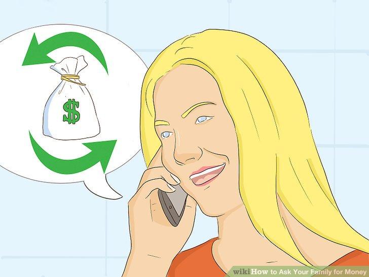 Kommunizieren Sie weiter mit Ihrer Familie, während Sie sie zurückzahlen.