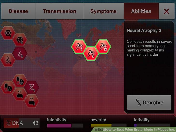 Entwickle deine Prion-Spezialfähigkeiten weiter.