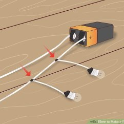 Battery Cut Off Switch Wiring Diagram Hpm Male Plug How To Make A Parallel Circuit (with Pictures) - Wikihow