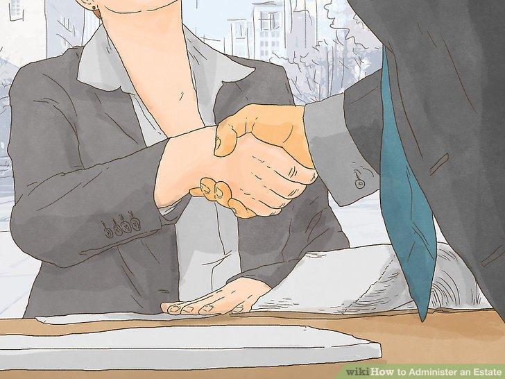 Administer the estate through the regular process.
