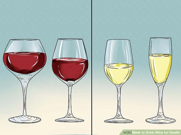 Wählen Sie Rotwein über Weiß.