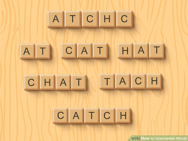 Unscramble These Letters To Make A Word  World of Example