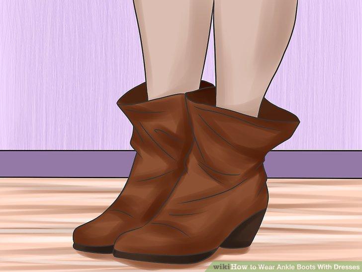 Ziehen Sie Stiefel mit breiterer Manschette an, wenn Ihre Beine schlanker wirken sollen.