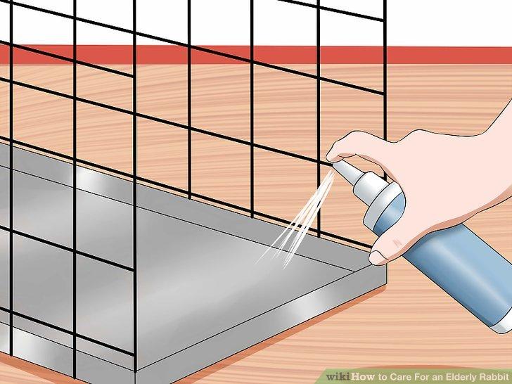 Überprüfen Sie den Käfig auf einen üblen Geruch, der auf Urin oder Kot hindeutet.