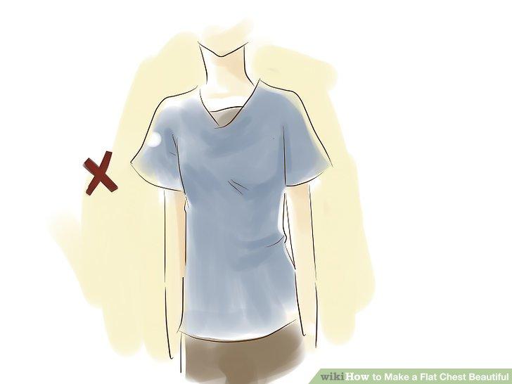 Vermeiden Sie weite Kleidung, die schlampig wirkt.