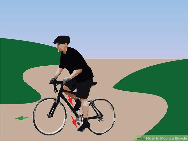 Drücken Sie das linke Pedal nach unten und halten Sie das rechte Pedal hoch.
