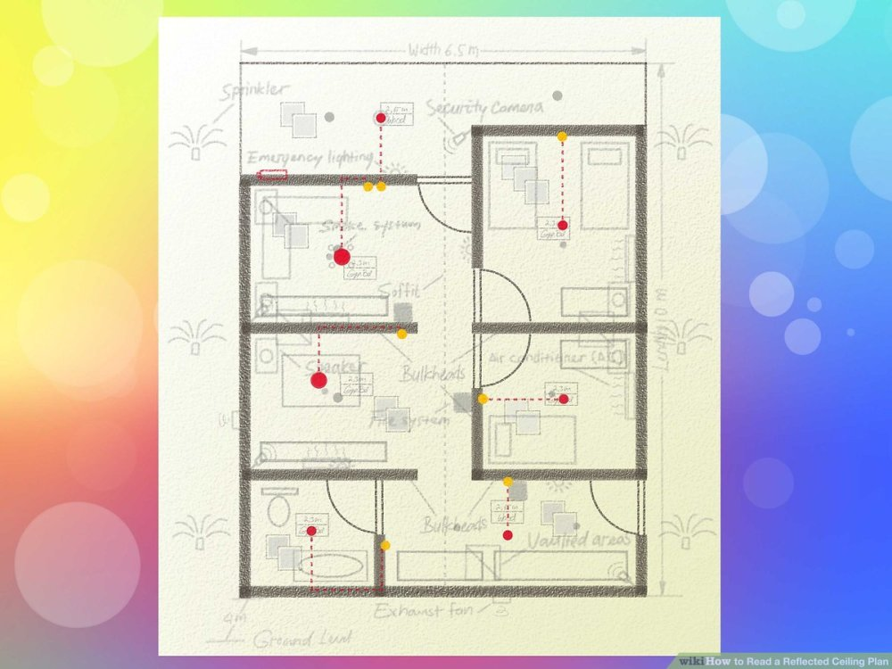 medium resolution of how to read a reflected ceiling plan 9 steps with pictures electrical plan layout