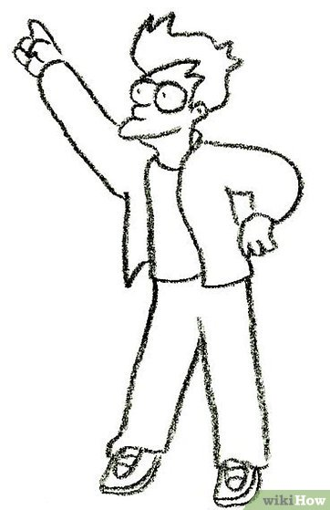 How to Draw Fry from Futurama: 9 Steps (with Pictures