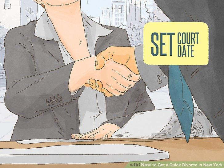 Setzen Sie Ihre Scheidung in den Gerichtskalender.