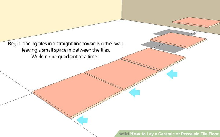 How to Lay a Ceramic or Porcelain Tile Floor (with Pictures)